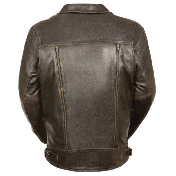 Men S Utility Pocket M C Jacket Milwaukeee Leather