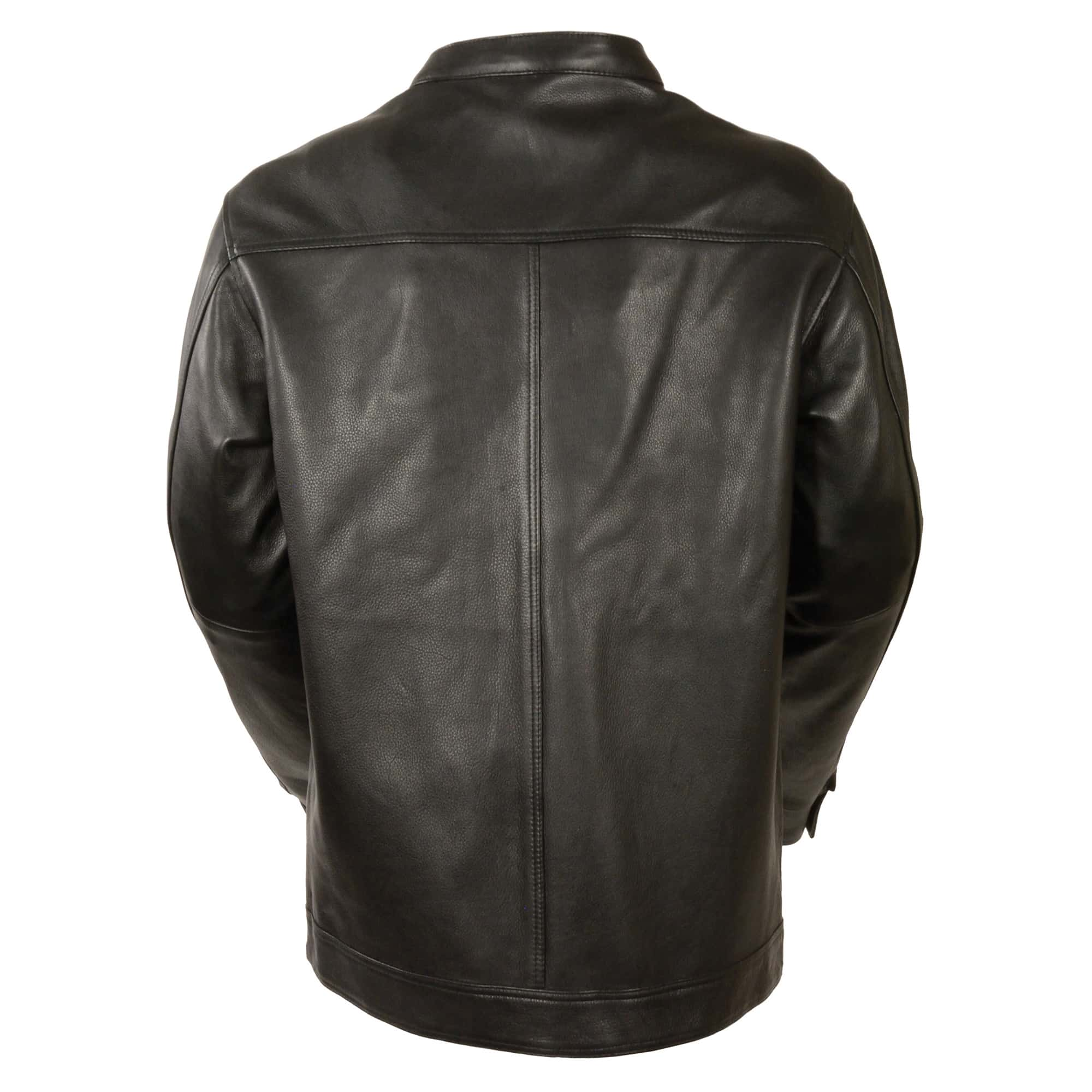 9c1efb301 Men's Club Style Cut Zipper/Snap Front Shirt Jacket – Milwaukeee Leather