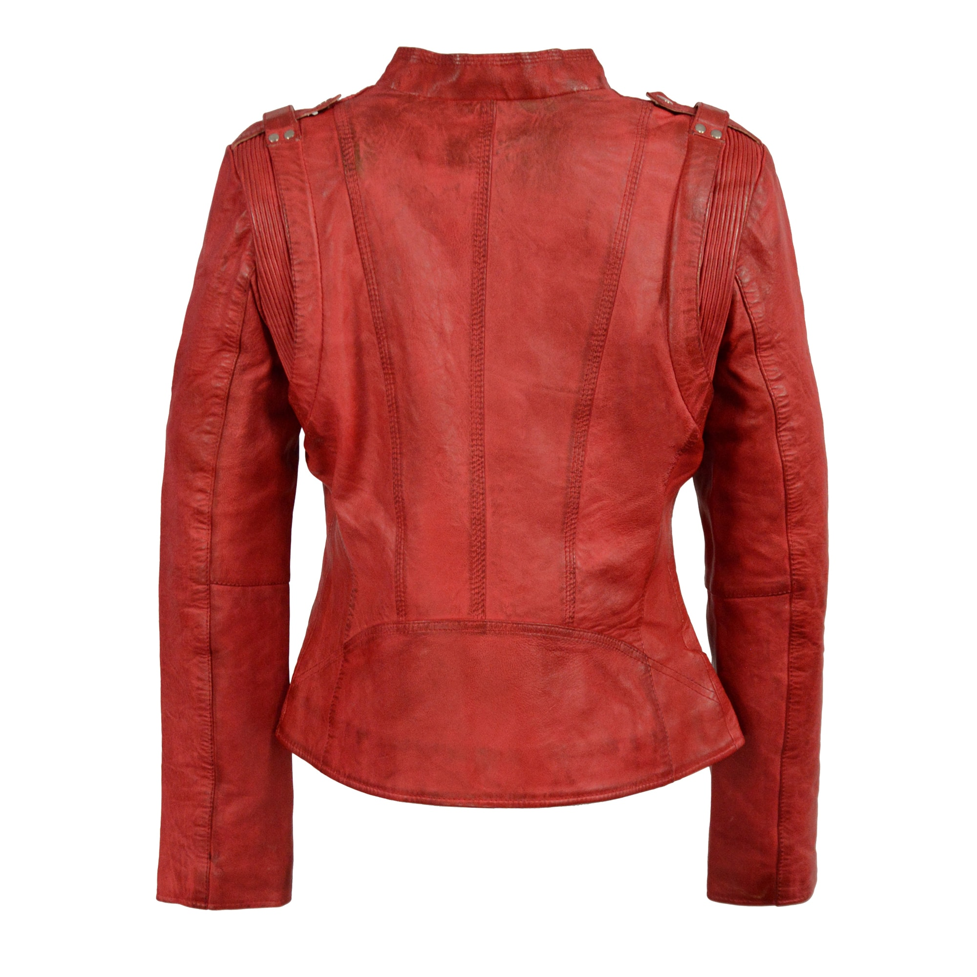 Women S Double Zipper Asymmetrical Moto Jacket