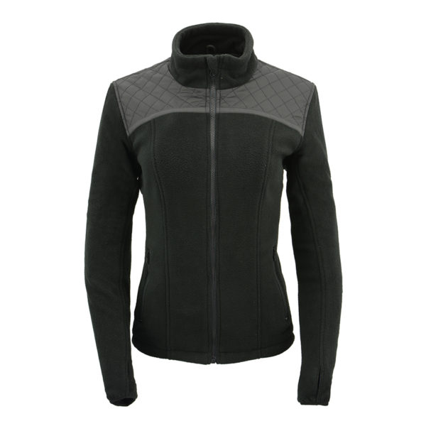 Milwaukee Leather Women Waterproof Lightweight Zipper Front Soft Shell Jacket Milwaukee Leathers MPL2763-PURPLE