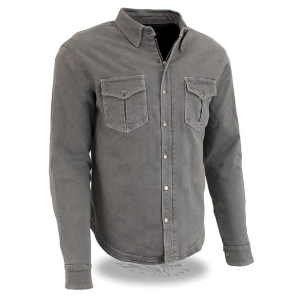 28 Milwaukee Performance MDM5010-BLACK-28 Mens Straight Cut Denim Jeans Reinforced with Aramid Black